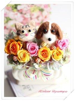 画像1: 犬猫アレンジC